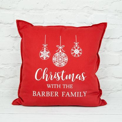 Picture of Christmas Family Cushion