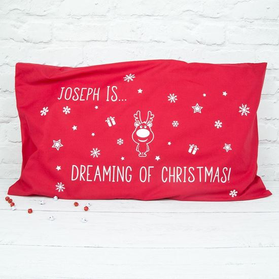 Picture of Children's Christmas Pillow Case