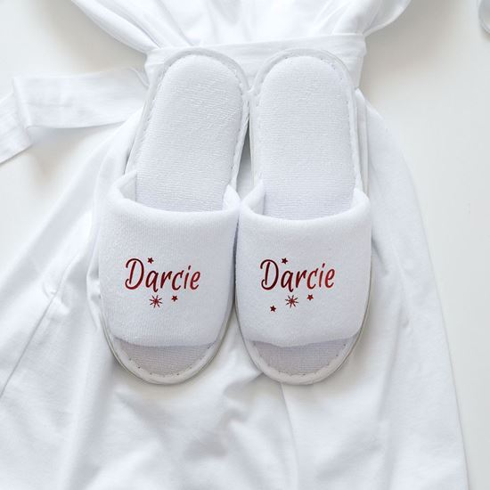 Picture of Personalised Kids Christmas Slippers