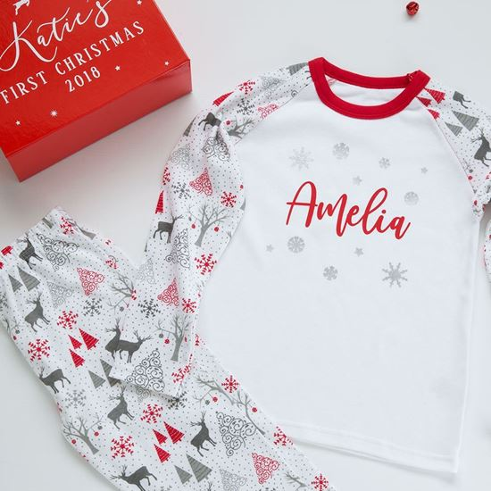 Picture of Personalised Christmas Pyjamas