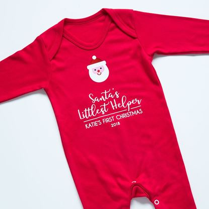 Picture of First Christmas Baby Grow