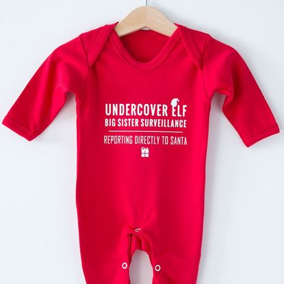 Picture of Undercover Elf Sleepsuit