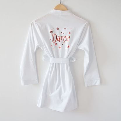 Picture of Girl's Christmas Robe
