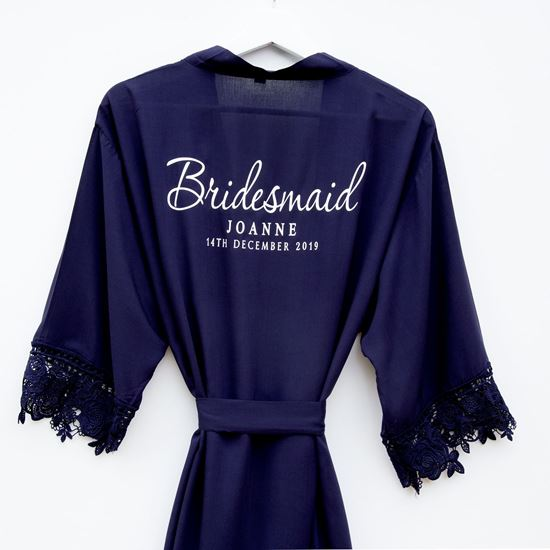 Picture of Chic Wedding Robe