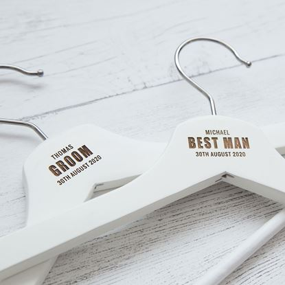 Picture of Groom Wedding Hanger