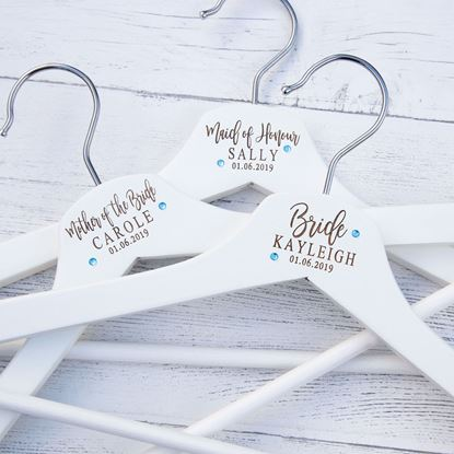 Picture of Diamante Wedding Hanger
