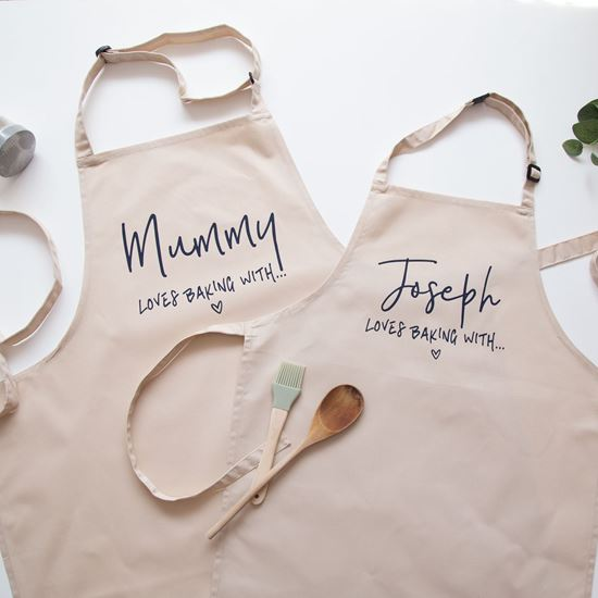Mum and Child Aprons