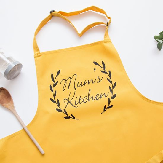 Mum kitchen apron