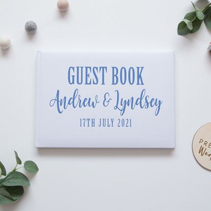 Picture of Rustic Guest Book